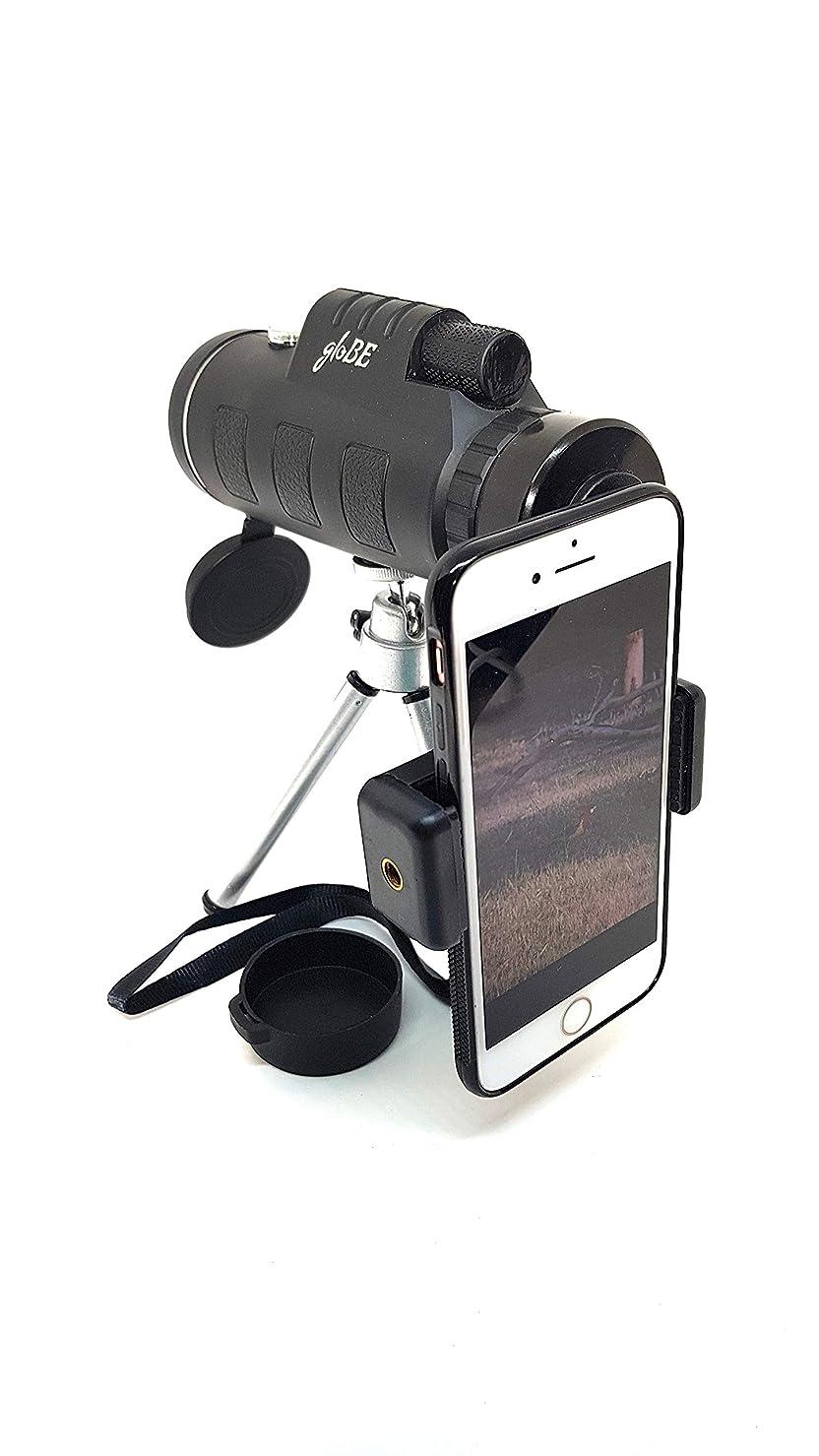 六分儀一節ジャンピングジャック12x52 BAK4 単眼鏡 望遠鏡 スマートフォンホルダー バードウォッチング キャンプ ハンティング 景色 野生動物の観劇に最適