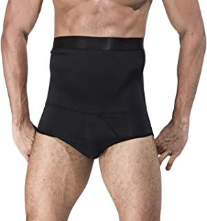 Panegy Men Shaper Boxer Briefs Hi-Wasit Tummy Control Slimming Shapewear
