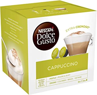 Nescafe Dolce Gusto Cappuccino Extra Cremoso (16 Pods 8 Cups)