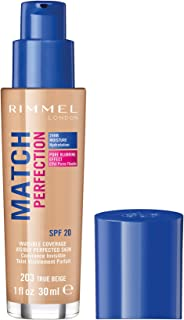 Rimmel London, Match Perfection Foundation, True Beige, 30 ml