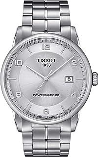 Men's Luxury Swiss Automatic Stainless Steel Dress Watch T0864071103700
