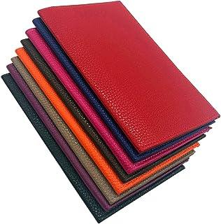Charmoni Capheny - Funda para billetera con tacón en la parte superior, 2 ranuras para tarjetas de crédito, DNI, piel de v...