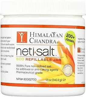 Himalayan Institute Neti Pot Salt Jar, 12 Ounce (24 Ounce)
