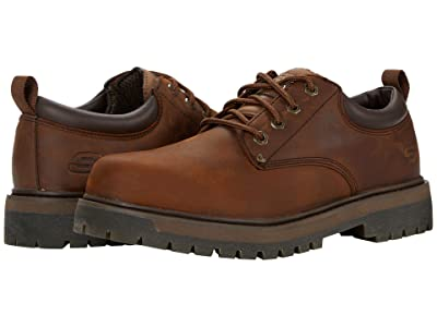 SKECHERS Alley Cats Mesago (Dark Brown) Men