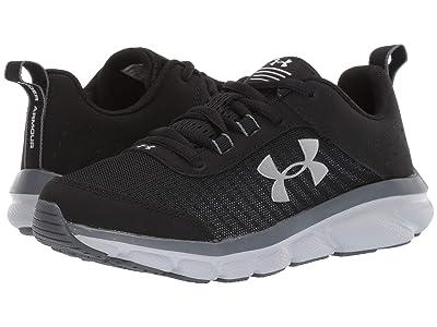 Under Armour Kids UA Assert 8 (Big Kid) (Black/Pitch Gray/Mod Gray) Kids Shoes