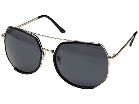 San Diego Hat Company Metal Frame Octagon Sunglasses at Zappos.com