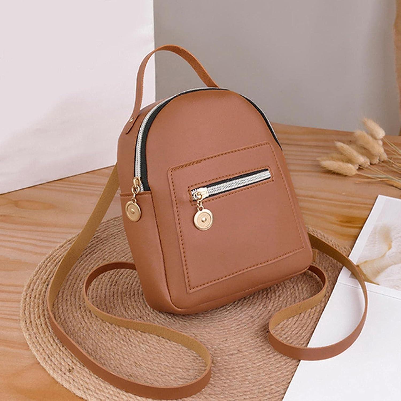 Women's Fashion Girl School Bag Small Backpack Ba Multi-Function ...