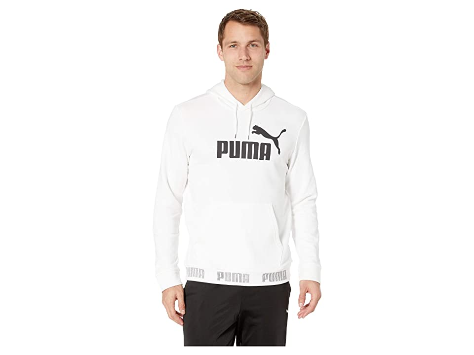 PUMA Amplified Hoodie TR (PUMA White) Men