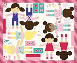 Best Friends Forever 4 Little Dolls DIY Panel x 43 inches Moda Stacy Iest Hsu
