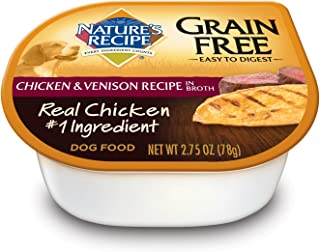 NatureS Recipe Chicken Venison 2 75 Ounce
