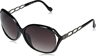 Women's J5827 Glamorous Vented Oval Sunglasses with 100% UV Protection,62 mm