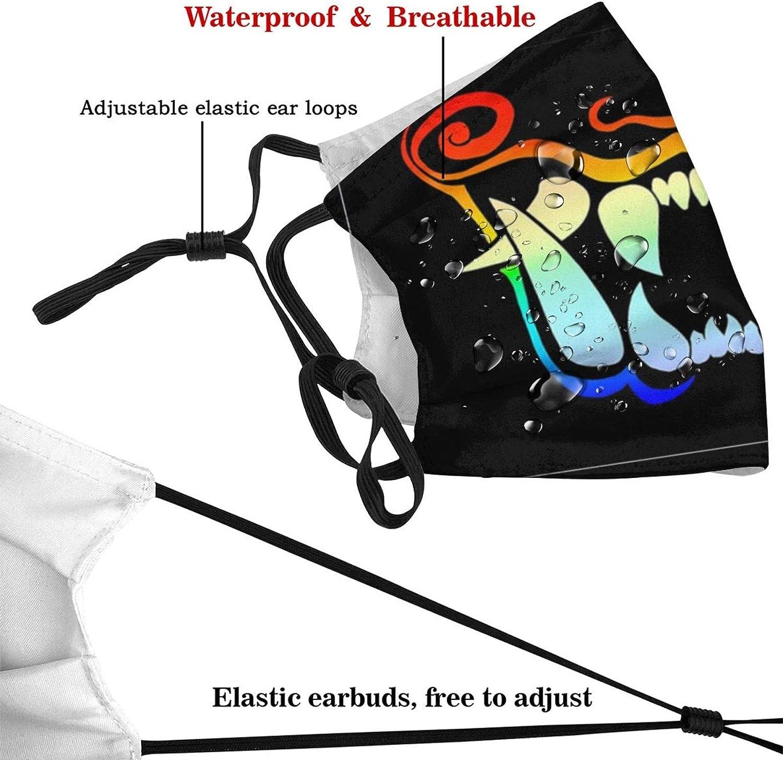Japanese Samurai Oni Face Mask Fashion Maks Washable Reusable Balaclava with Filters for Women Men