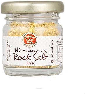 Original Indian Table Himalayan Garlic Rock Salt, 30g