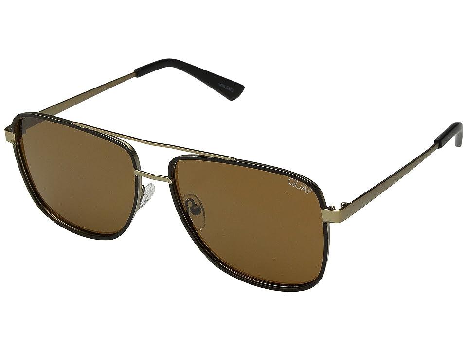QUAY AUSTRALIA Modern Times (Bronze Black/Brown) Fashion Sunglasses