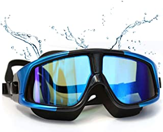 Swimming Goggles,Nearsighted Swim Goggles Anti Fog UV,Prescription Swim Goggles
