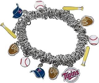 Game Time Offical MLB MINNESOTA TWINS Stretch Bracelet