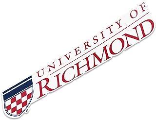 University of Richmond Name Logo Vinyl Decal Laptop Water Bottle Car Scrapbook (8 Inch Sticker)
