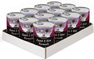 Victor Lamb Rice Formula Food Canned