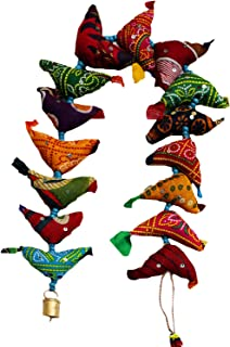 Mango Gifts 15 Tota Bird Bell Door Hanging Traditional Indian Hanging Decoration India