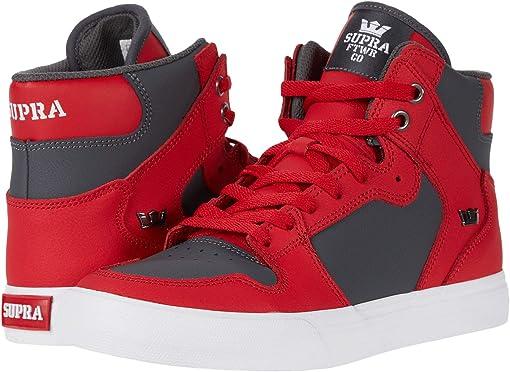 Red/Dark Grey/White