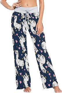 XiangHeFu Pantaloni Pigiama da Donna, Pantaloni da Yoga, Leggings Inferiori, Pantaloni da Salotto a Vita Alta, Adorabile M...
