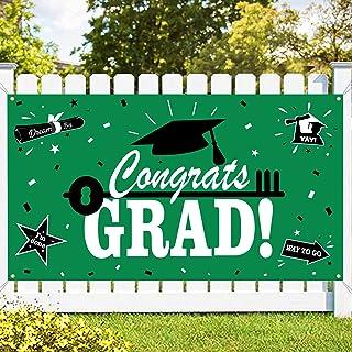 Dazonge Graduation Party Supplies 2021, Large Congrats Grad Banner (45''x78'') for Graduation Decor, 2021 Graduation Decor...