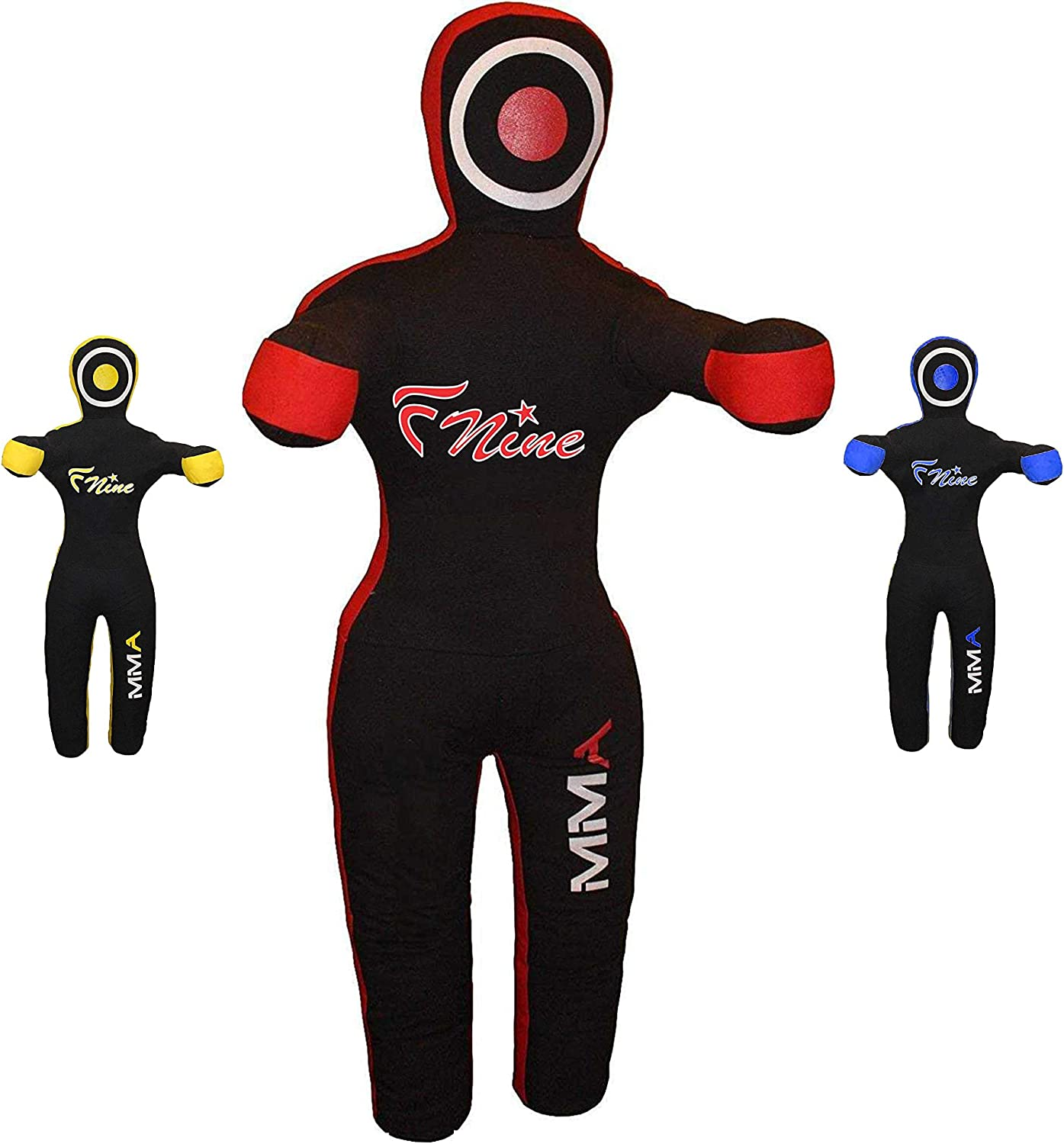 Wrestling Brazilian Jiu Jitsu for Judo FNine Sports MMA Grappling Dummy Submission and Throwing UNFILLED Canvas Bag