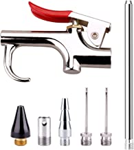 WYNNsky Air Blow Gun Accessory Kit with 5 Interchangeable Nozzles – 7 Pieces Air..