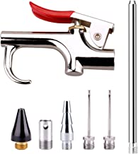 WYNNsky Air Blow Gun Accessory Kit with 5 Interchangeable Nozzles - 7 Pieces Air Compressor Tools Kit