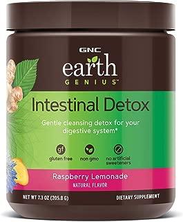 GNC Earth Genius Intestinal Detox, Raspberry Lemonade, 14 Servings