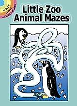 الصغار حيوانات حديقة الحيوانات mazes كتب نشاط Dover (صغير)