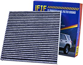 iFJF Cabin Air Filter CP134 (CF10134) includes Activated Carbon 80292-SDA-A01 for Honda Acura Premium Civic CR-V Odyssey CSX ILX MDX RDX Replacement Filter Cabin Air Filter (Set of 1)