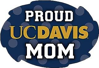 R and R Imports, Inc UC Davis Aggies NCAA Collegiate Trendy Polka Dot Proud Mom 5