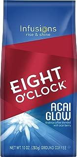 Eight O'Clock Ground Coffee, Acai Glow, 10 Ounce