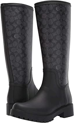 Signature Rain Boot with Signature Coated Canvas
