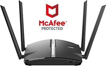D-Link DIR-1360 - EXO AC1300 Mesh-Enabled Smart Wi-Fi Router with McAfee Anti Virus Protection - Buy D-Link DIR-1360 - EXO AC1300 Mesh-Enabled Smart Wi-Fi Router with McAfee Anti Virus Protection Online at Low Price in India - Amazon.in