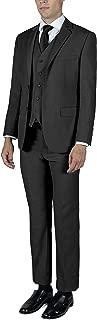 ALAIN DUPETIT Men's Three Piece TR Blend Suit in Many Colors