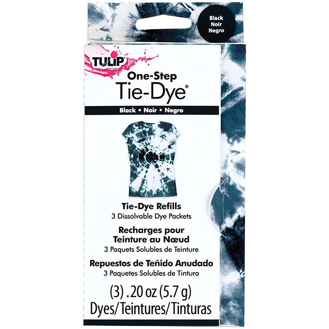Tulip One-Step Dye Refills Black