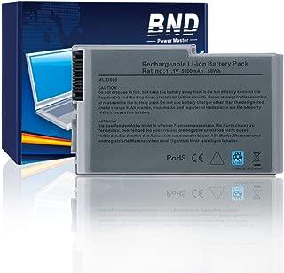 BND Laptop Battery for Dell Latitude D600 D505 D610 D520 D500 D510 D530 / Inspiron 600M, fits P/N C1295 6Y270 3R305-24 Months Warranty [6-Cell 5200mAh/58Wh]