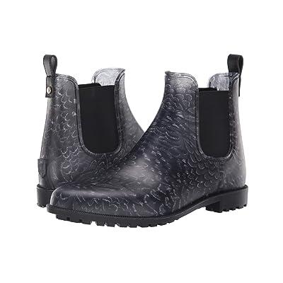 Joules Rockingham Chelsea Boot (Black Pheasant Feathers) Women