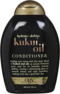OGX, Conditioner, Hydrate & Defrizz+ Kukuí Oil, 385ml