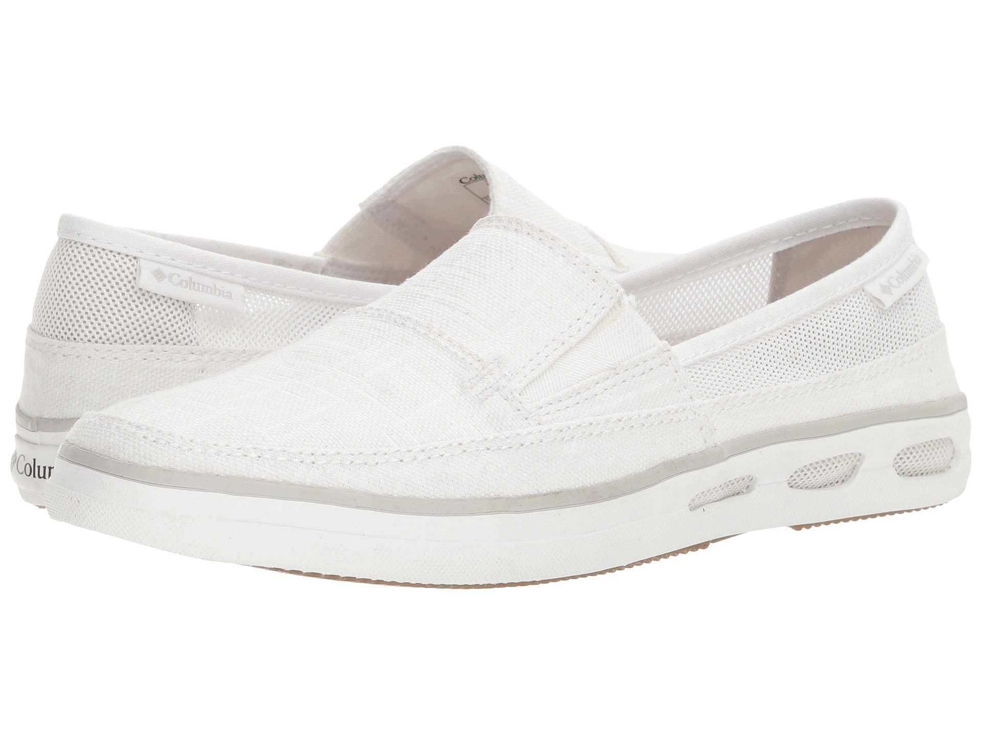 Vulc N Vent Slip Outdoor, White/Cool Grey