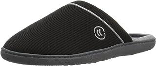 حذاء ISOTONER نسائي من نسيج وافل بلوفر، أسود مقاس X-Large/ 9. 5-10 قياسي عرض الولايات المتحدة