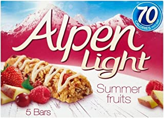 Alpen Light Bars Summer Fruits (5x19g)