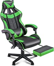 SOONTRANS PC Gaming Chair,Racing Chair for Gaming,Computer Chair,E-Sports Chair,Ergonomic Office Chair with Retractable Fo...