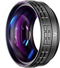 Wide Angle Lens for Sony ZV1 ULANZI WL-1 ZV1 18mm Wide Angle/ 10X Macro 2-in-1 Additional Lens for Sony ZV1/RX100 VII Camera