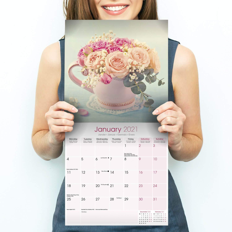 Unlv 2022 Calendar.Shabby Chic Calendar Calendars 2020 2021 Wall Calendars Art Calendar Shabby Chic 16 Month Wall Calendar Amazon Sg Office School Supplies