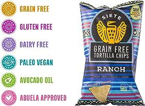 Siete Ranch Grain Free Tortilla Chips, 4 oz bag