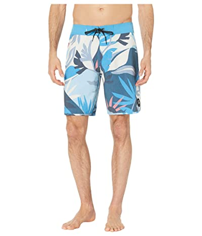 Quiksilver Highline Tropical Flow 19 Boardshorts (Blithe) Men