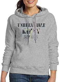FUOCGH Women's Pullover Unbreakable Kimmy Schmidt Hooded Sweatshirt Ash